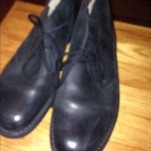 🔥Clarks NWOT short black boots 🔥